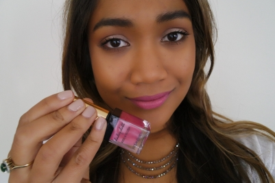 Wearing YSL Kiss and Blush in