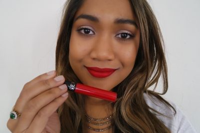 Wearing Sephora Cream Lip Stain in